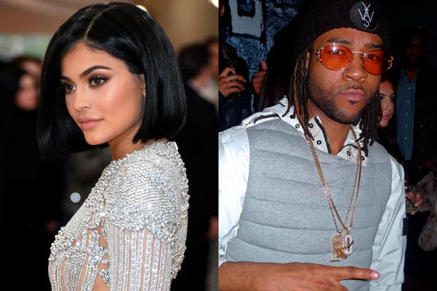 Kylie Jenner (left) and PartyNextDoor (right)