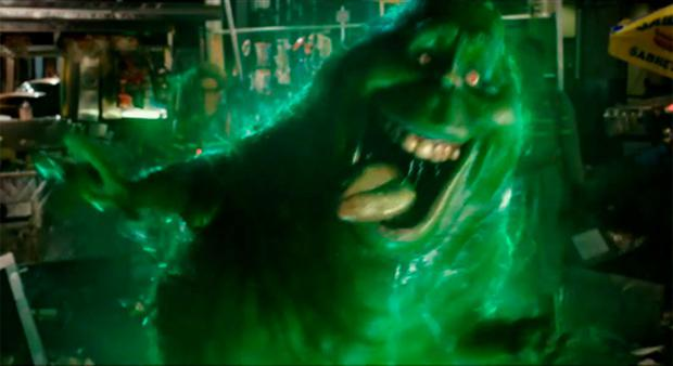Slimer's back for Ghostbusters 2016