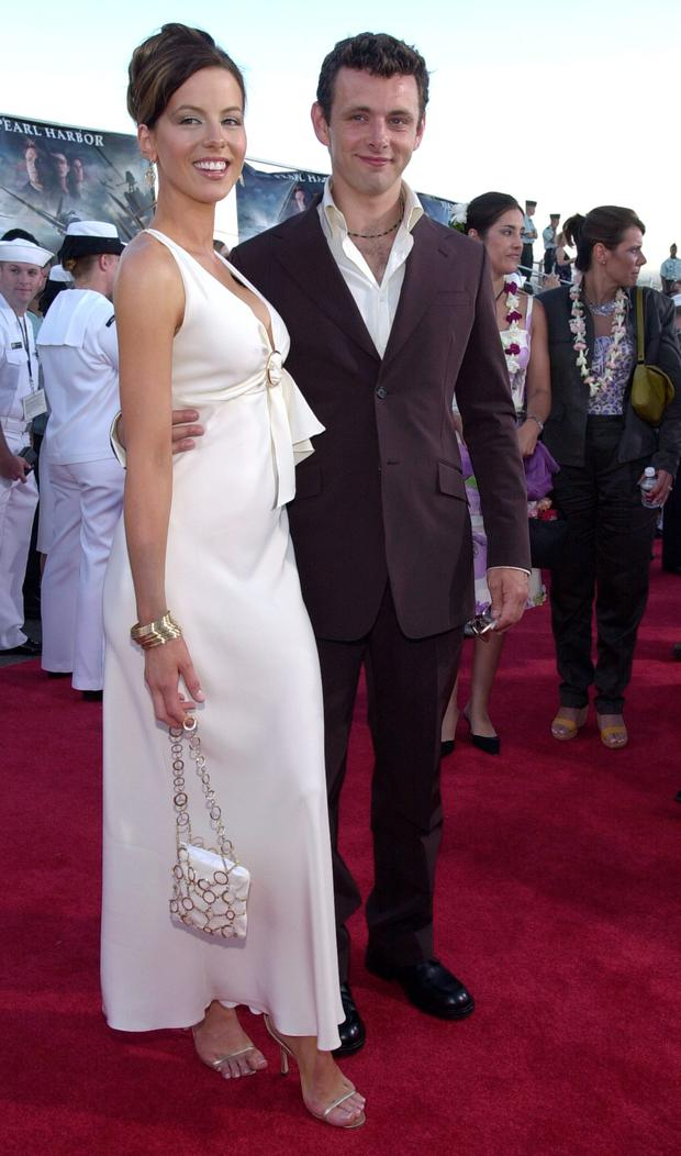 Kate Beckinsale and ex Michael Sheen