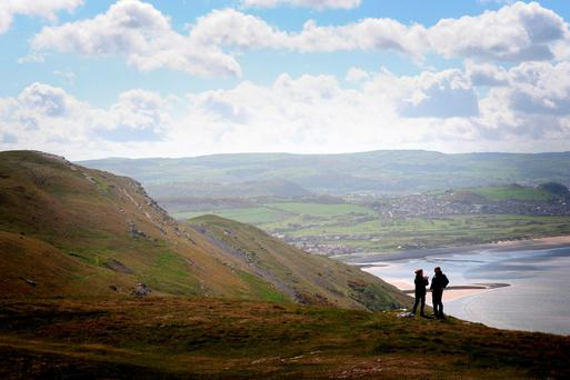 A view of Great Orme in north Wales. Photo: National Trust Images/Richard Williams/PA Wire