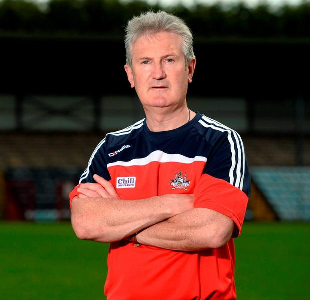 Cork manager Kieran Kingston has been working hard to eradicate his team's defensive frailties. Photo: Diarmuid Greene / Sportsfile