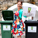 Catherine Fulvio at a photocall to announce pay by weight waste Photo: Jason Clarke