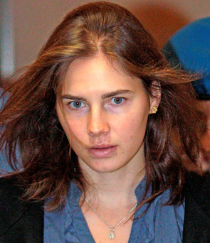 Amanda Knox claims she was slapped by police and subjected to an unfair trial on charges of murdering Meredith Kercher Photo: REUTERS/Alessandro Bianchi/Files
