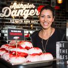 Quezia Lima of Aungier Danger, Aungier St, pictured today for The Herald/98fm Dublin's Best Shop Competition.