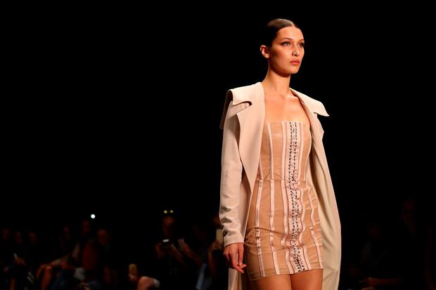 Model Bella Hadid walks the runway during the Misha Collection show at Mercedes-Benz Fashion Week Resort 17 Collections at Carriageworks on May 16, 2016 in Sydney, Australia. (Photo by Mark Nolan/Getty Images)