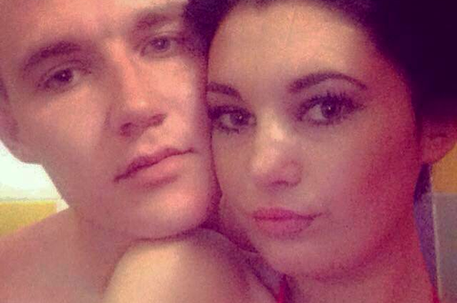 Clare shared this photograph of herself with crash victim Cian Hourihan (Photo: Facebook)