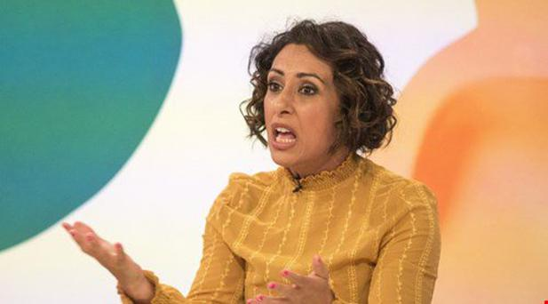 Loose Women panelist Saira Khan has revealed why she's happy to let her husband sleep with other women. Photo: ITV
