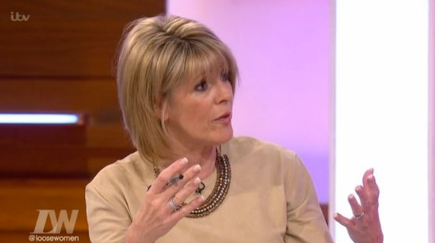 Ruth Langsford said it's easy for couples who have been married for a long time to stop making an effort for each other. Photo: ITV