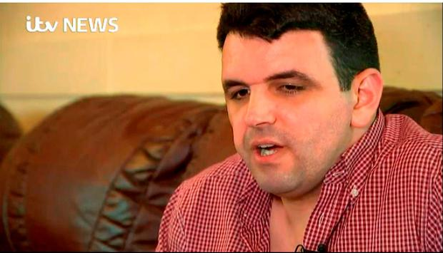 Video grab taken from ITV News of Alastair Osman, the brother of Briton Richard Osman who was on the Egyptian plane which crashed with 66 people on board. Picture: Press Association
