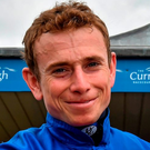 Ryan Moore: partners Air Force Blue. Photo: Matt Browne/Sportsfile