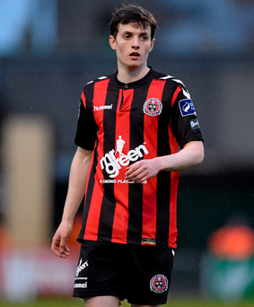 Ayman Ben Mohamed, Bohemians. Photo: Seb Daly/Sportsfile