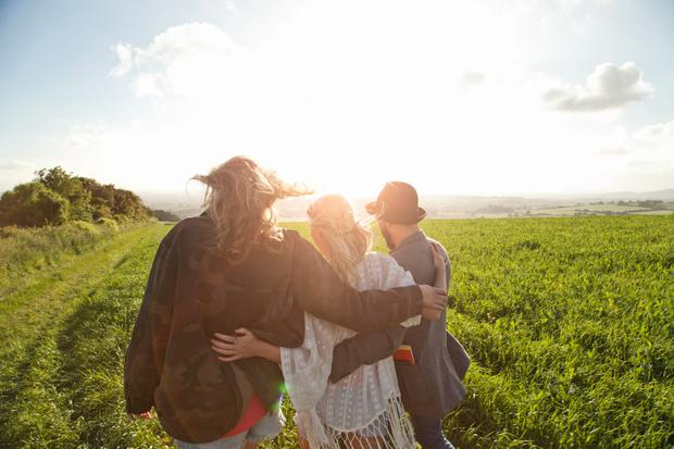 'If friends can act as a better painkiller than morphine, we'd better nurture the ones we have and rush out and make some more'. Stock photo: Getty