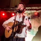 LONDON, ENGLAND - FEBRUARY 11: Conor O'Brien from Villagers performs at St John-At-Hackney on February 11, 2016 in London, England. (Photo by Rob Ball/Redferns)