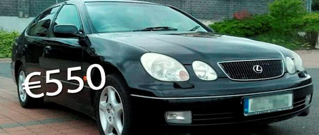 Some of the used cars being offered for same on website DoneDeal.ie