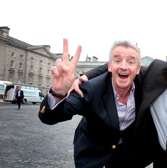 Michael O'Leary: 'If only I'd learned in Trinity that being nice to people was profitable, I'd have done it years ago'