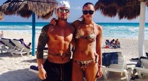 Irma Mali with boyfriend Barry Maguire. Picture: Instagram