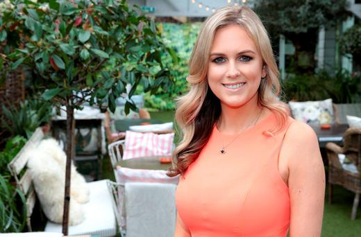 Cassie Stokes when she was unveiled as the new face of TV3's Xposé. Picture: Brian McEvoy
