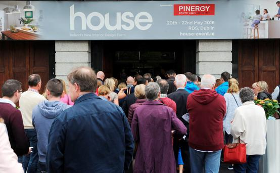The opening of house at the RDS Dublin. Photo David O'Shea