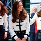 Kate Middleton in Alexander McQueen in 2011, 2014 and 2016