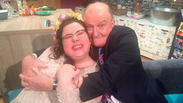 George Hook and Alison Spittle on The 7 O'Clock Show on TV3