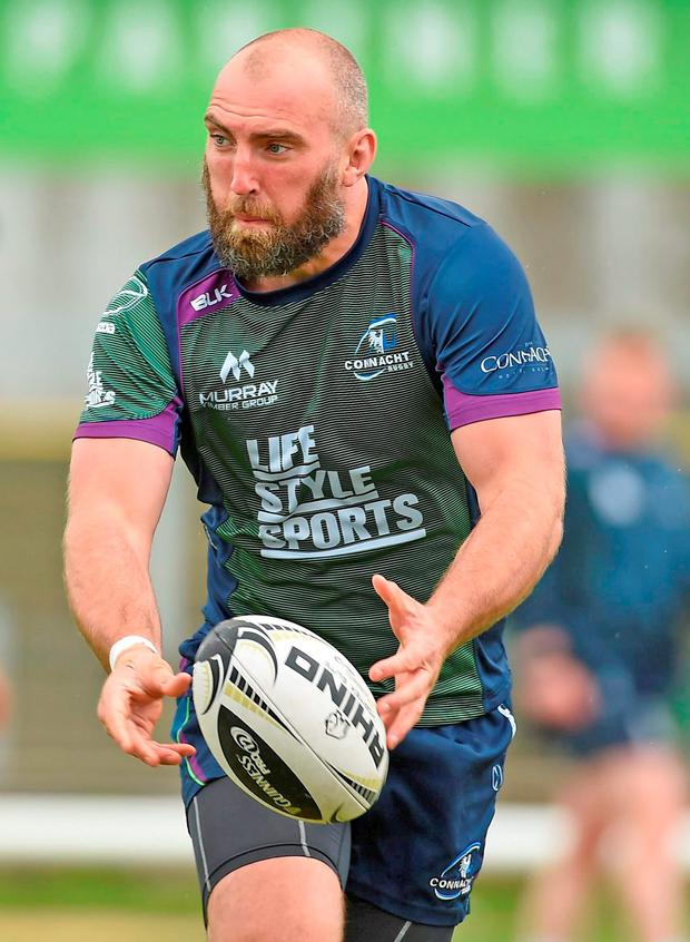 John Muldoon of Connacht (Photo: Sportsfile)