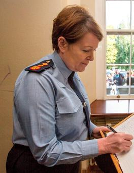 Garda Commissioner Nóirín O'Sullivan is under pressure over the issue of instructions to her legal team for the O'Higgins Commission. Photo: Mark Condren