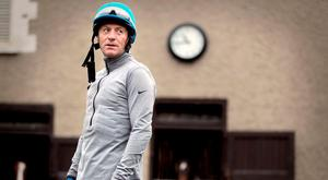 Kieren Fallon: He can get morose when the winners aren't coming in but he's having fun again (Photo: INPHO/Morgan Treacy)