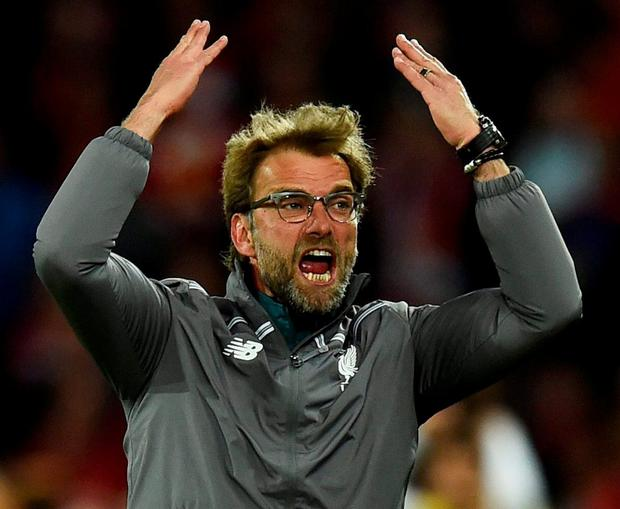 'Jurgen Klopp's flops were exposed – trophyless, and now eighth in the Premier League. Hype's no substitute for quality.' Photo: REUTERS