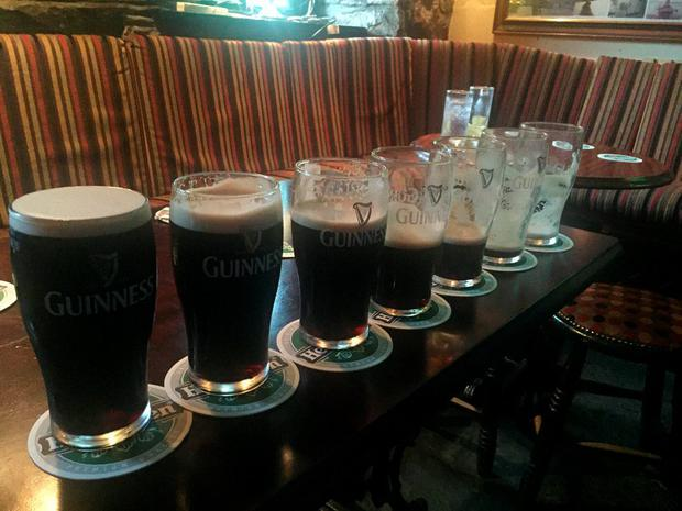 Fresh from his leadership disappointment, Alan Kelly posted an image of seven pints of Guinness on Twitter
