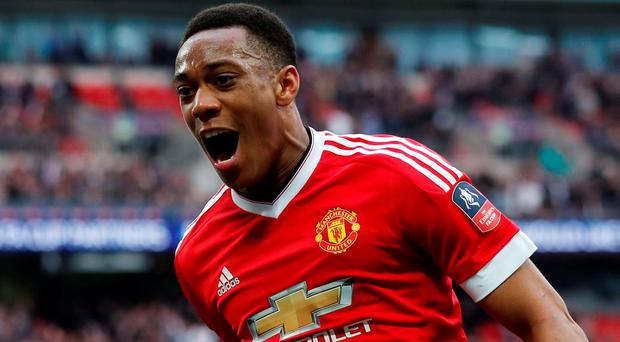 Manchester United's Anthony Martial (REUTERS)
