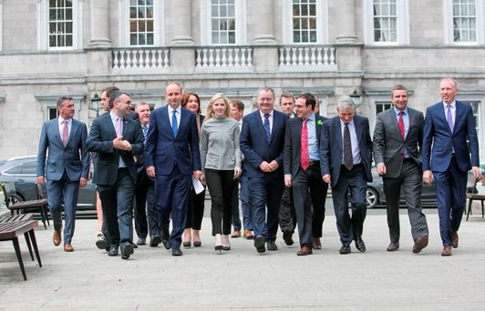 No group in the new Dáil and Seanad has an easy task ahead but the challenges for Fianna Fáil are the most complex and perilous. Photo: Gareth Chaney Collins