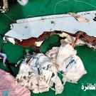 Undated handout photo taken from the Facebook page of Egyptian Armed Forces showing debris that has been recovered from EgyptAir flight 804 that went down in the Mediterranean Sea early on Thursday