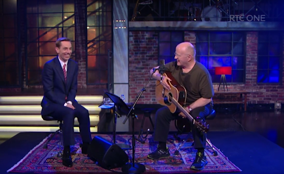 Christy Moore on the Late Late Show