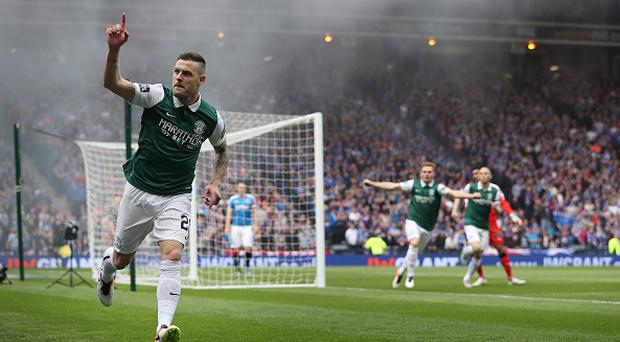 Anthony Stokes could be on his way back to Hibs