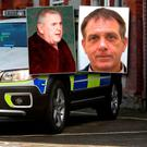 Garda Armed Support Unit. Inset Noel 'Kingsize' Duggan and Eddie Hutch Snr