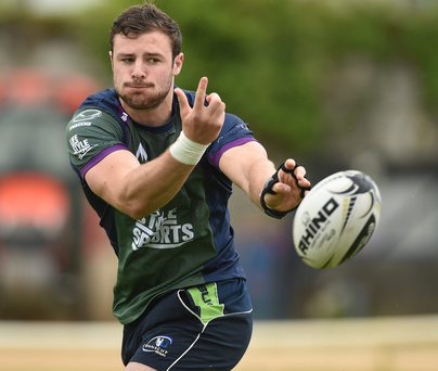 Robbie Henshaw's stolen lapton was retrieved by his Connacht team mates. Photo: Diarmuid Greene/Sportsfile