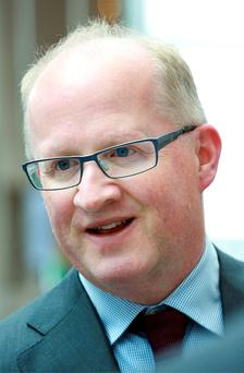 Central Bank chief Philip Lane said the rules could be changed. Photo: Frank Mc Grath