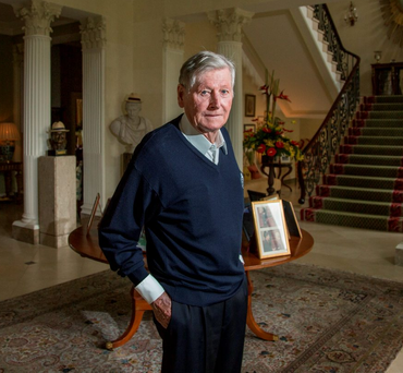 Michael Smurfit doesn't believe the euro currency will collapse if the UK votes to leave the EU. Photo: Mark Condren