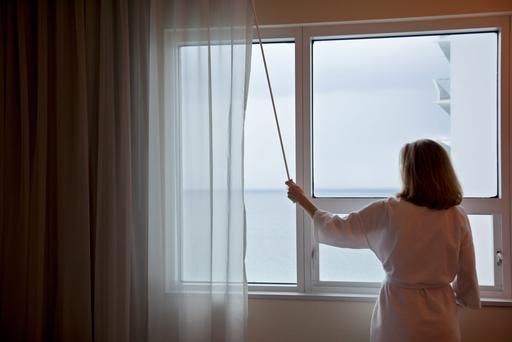 'The view of the sea from our bedroom'. Stock photo: Getty