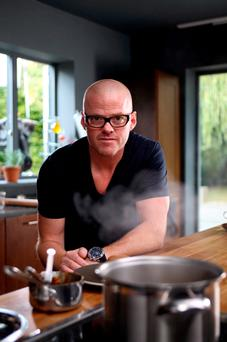 Recipe for success: Heston Blumentahal's admits to being terrible when it comes to money
