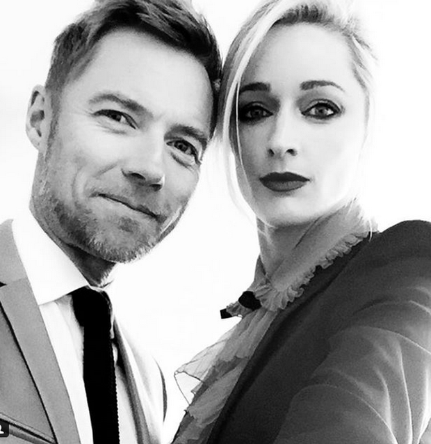 Ronan and Storm Keating. Photo: Instagram