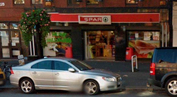 Spar on Baggot Street where the winning ticket was sold