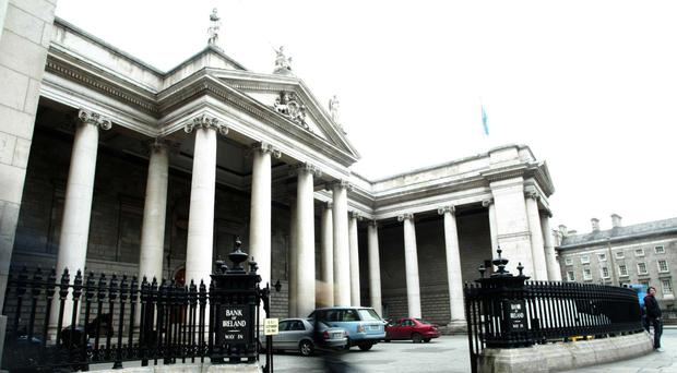 Bank of Ireland on College Green. Photo: Collins Photos