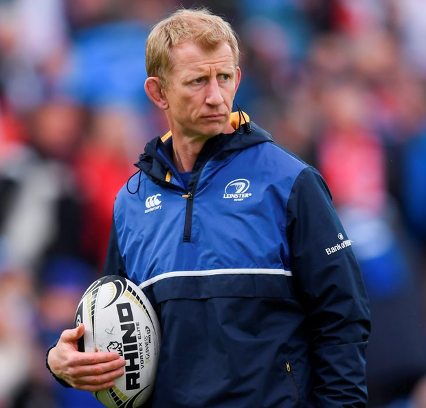 Leinster head coach Leo Cullen. Photo: Stephen McCarthy/Sportsfile