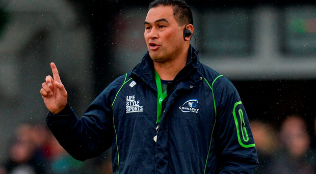 Connacht head coach Pat Lam. Picture: Seb Daly/Sportsfile