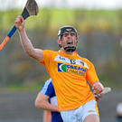 Antrim's Ciaran Clarke found that extra gear to hit 0-16. Photo Mark Marlow/Sportsfile