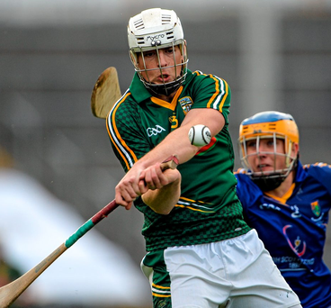 Gavin McGowan's 20th-minute goal for Meath proved decisive. Photo: Brendan Moran/Sportsfile