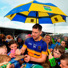 Tipperary's Séamus Callanan meets fans after victory in Thurles Photo: Stephen McCarthy/Sportsfile