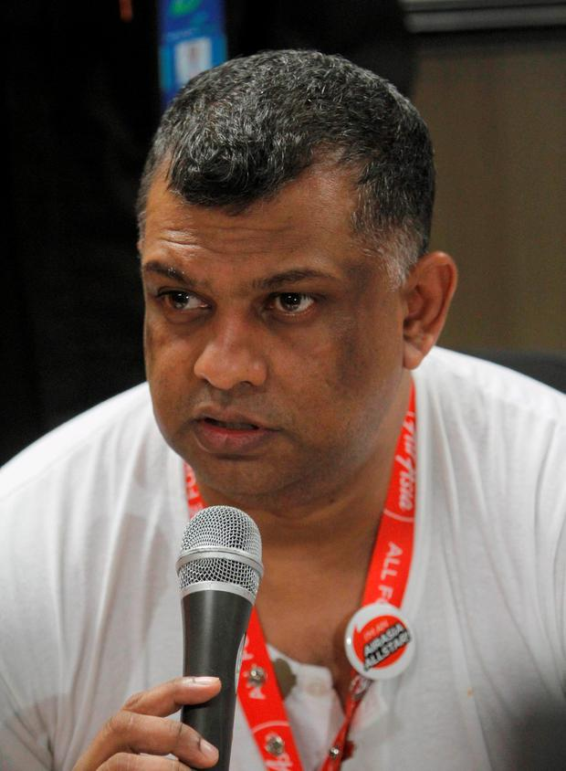 Tony Fernandes. Photo: AP