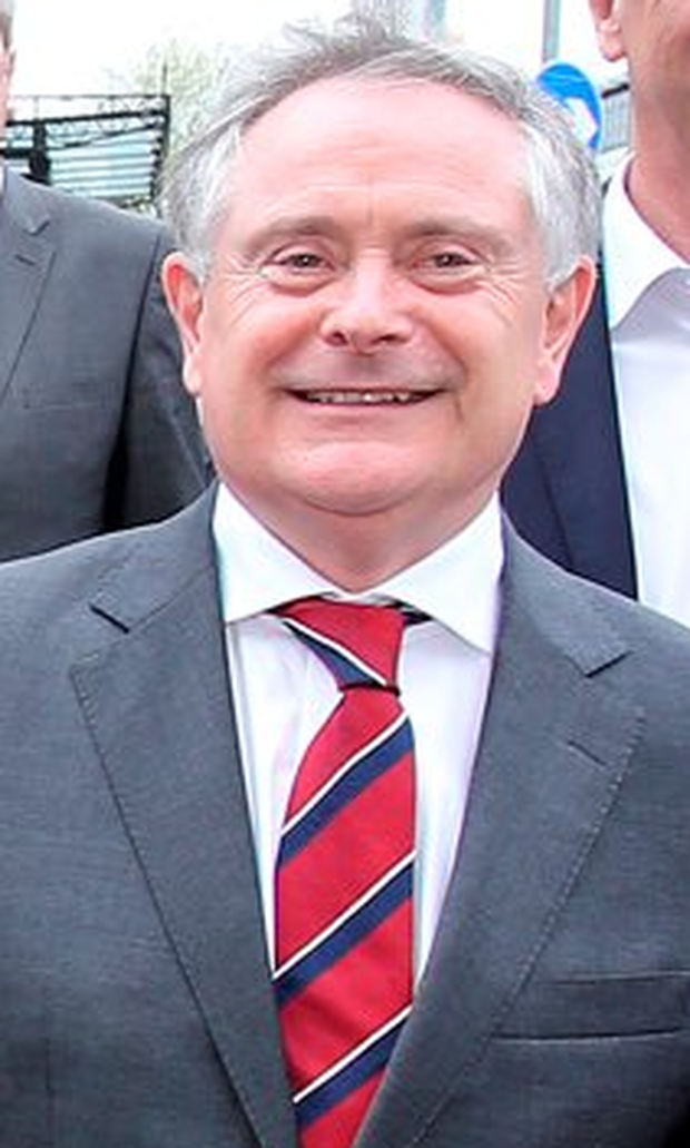 Brendan Howlin: denies that he threatened to stand aside Photo: Tom Burke